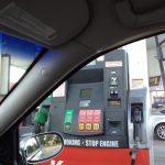 アメリカでのガソリンの入れ方。